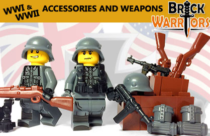 BrickWarriors -  Custom Accessories and Weapons