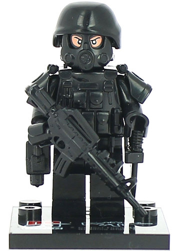 Fs006 Bs Custom Swat Special Forcers Sargent Minifigures Custom