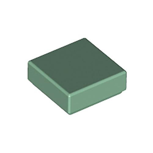 LEGO grigio scuro Bluastro TILE 1x1 10 PEZZI NUOVO!!!