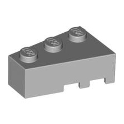 White 1 x  Lego 6565 Wedge 3 x 2 Left