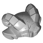Minifigure LEGO Headgear Gargoyle Horns and Ears with Speckled Stone Pattern