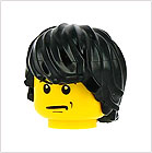 Minifigures Male Hair