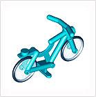 Minifiguren Motor und Fahrräder