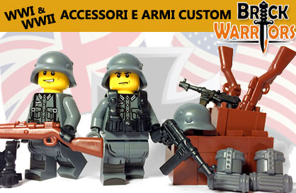 BrickWarriors -  Armi e Accessori Custom