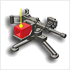 Minifiguren Maschinengewehre