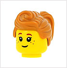 Minifigures Female Hair