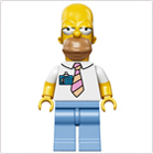 LEGO Minifigur Simpsons