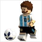 Custom Minifigures Soccer Players