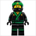 LEGO Minifiguren Ninjago Movie
